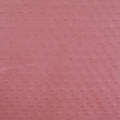 Tonal Swiss Clip Dot Shirting Rose - Fabric - Style Maker Fabrics