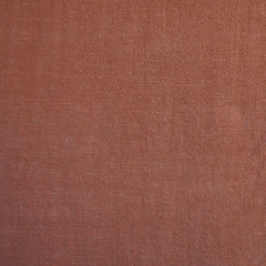 Slub Texture Linen Blend Solid Terracotta SY - Sold Out - Style Maker Fabrics