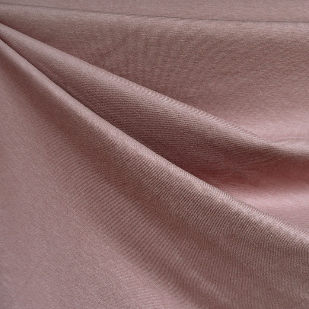 Cotton Modal Jersey Knit Solid Rose SY - Sold Out - Style Maker Fabrics