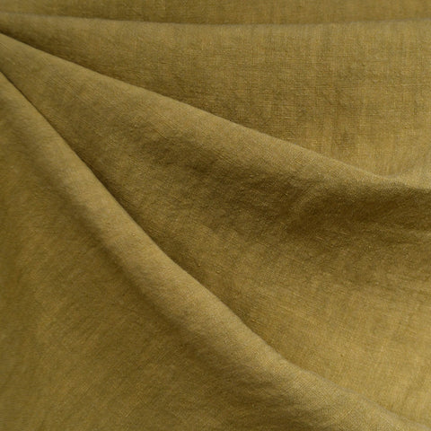 Soft Washed Linen Solid Avocado