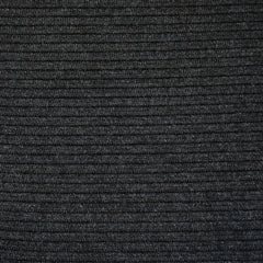 Ultra Plush Stripe Texture Sweater Knit Charcoal - Fabric - Style Maker Fabrics