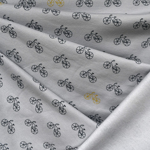 Bicycle Ride Sweatshirt Fleece Grey