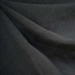 Soft Washed Linen Solid Charcoal - Fabric - Style Maker Fabrics