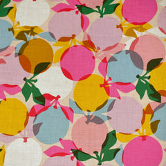 Clementine Layered Oranges Print Cotton Sunshine - Sold Out - Style Maker Fabrics