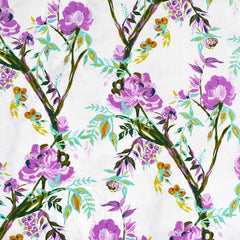 365 Fifth Avenue Betty Anne Floral Premium Cotton Vanilla SY - Sold Out - Style Maker Fabrics