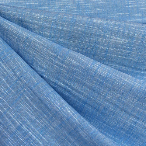 Manchester Yarn Dyed Cotton Shirting Blue