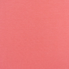 Mid Weight Cotton Jersey Knit Solid Coral SY - Sold Out - Style Maker Fabrics