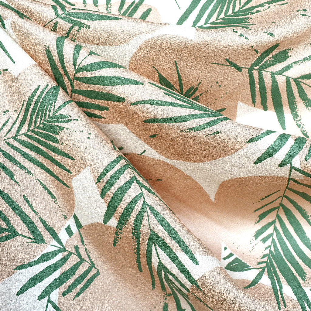 Atelier Brunette Summer Canopy Rayon Crepe Cactus - Sold Out - Style Maker Fabrics