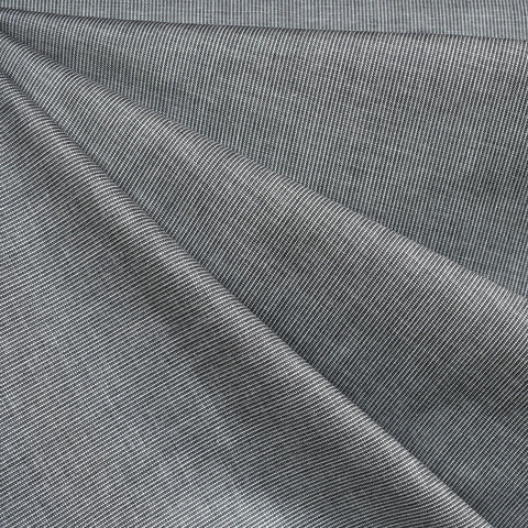 Grainline Yarn Dyed Woven Shirting Grey