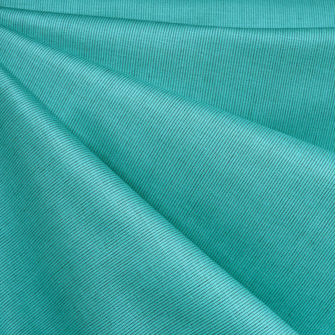 Grainline Yarn Dyed Woven Shirting Aqua