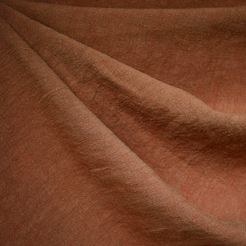 Soft Washed Linen Solid Spice SY