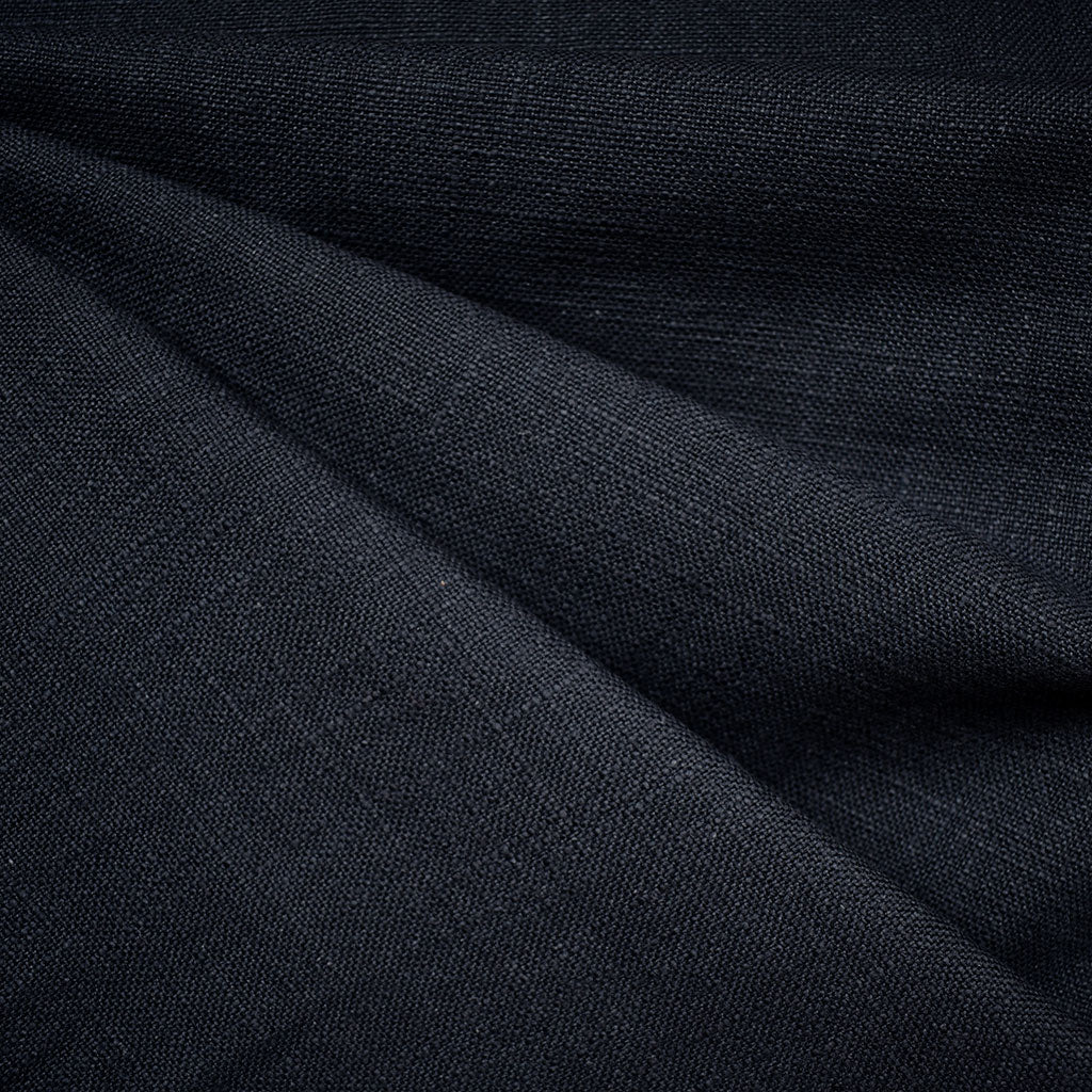 Warp & Weft Slub Canvas Solid Navy - Sold Out - Style Maker Fabrics