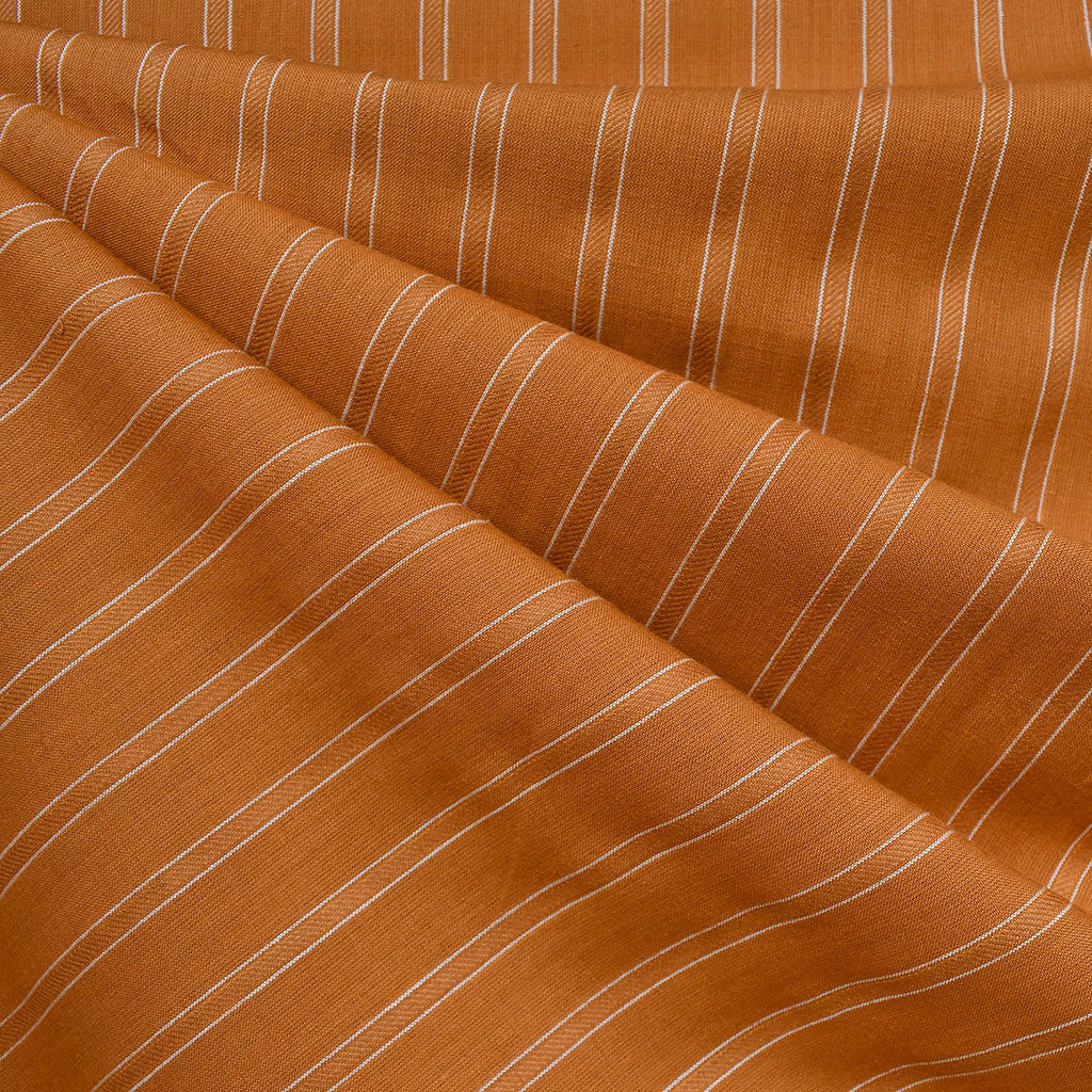 Warp & Weft Yarn Dyed Stripe Shirting Saddle - Sold Out - Style Maker Fabrics