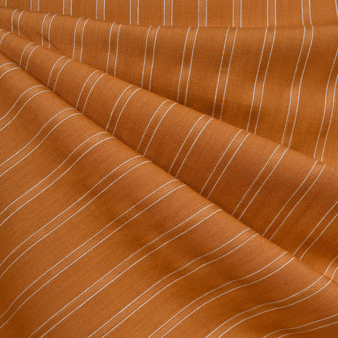 Warp & Weft Yarn Dyed Stripe Shirting Saddle