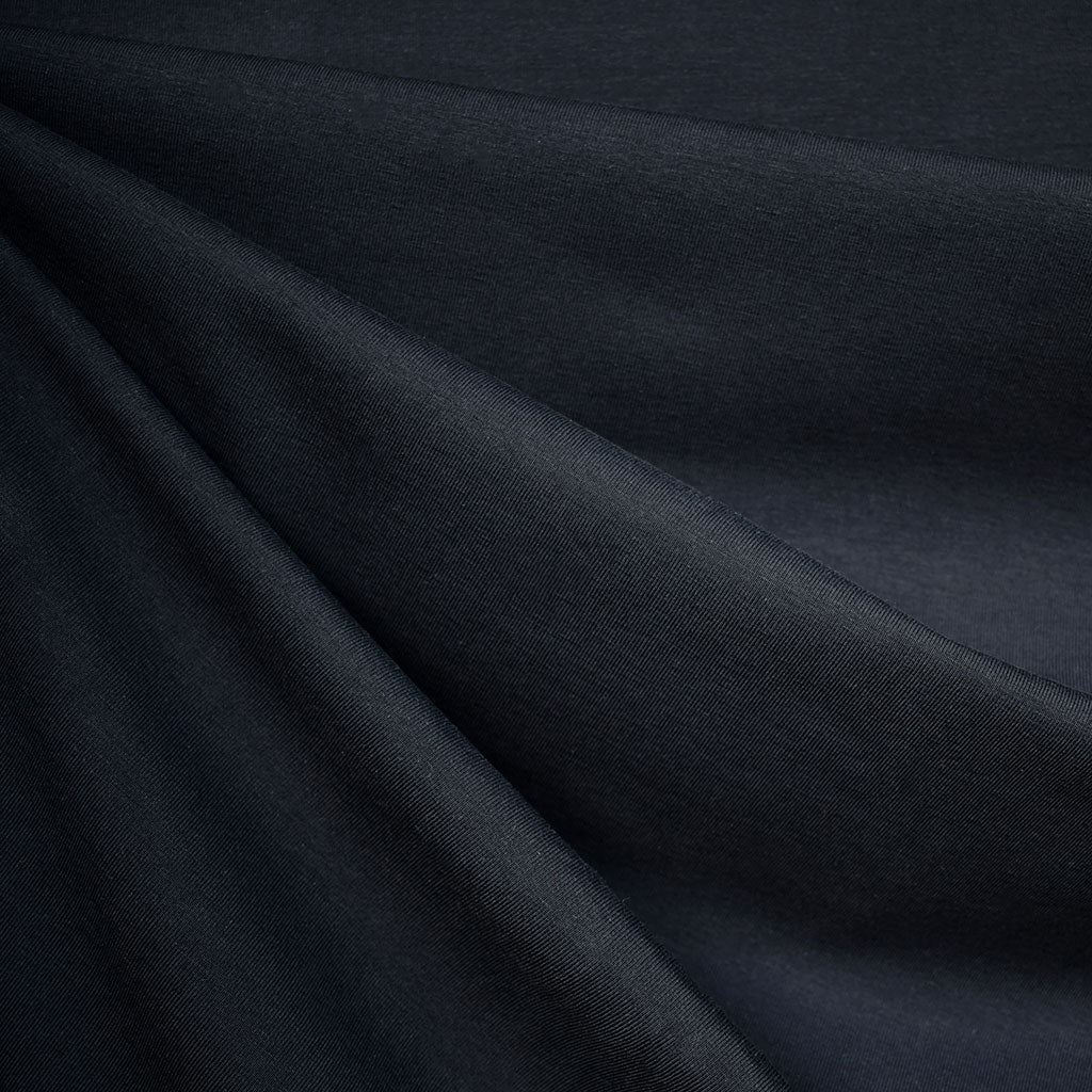 Mid Weight Cotton Jersey Knit Solid Navy - Fabric - Style Maker Fabrics