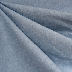 Washed Light Weight Denim Bleached Blue - Fabric - Style Maker Fabrics