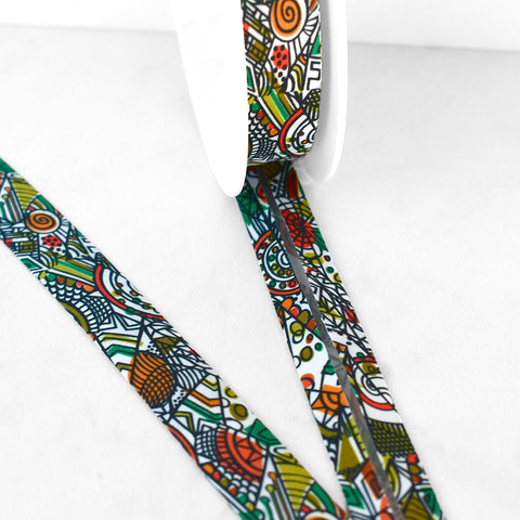 Art Deco Mosaic Bias Tape