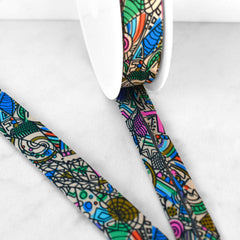 Art Deco Mosaic Bias Tape - Trim - Style Maker Fabrics