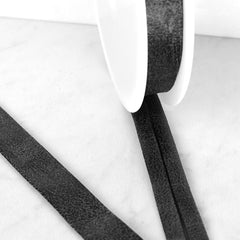 Distressed Faux Suede Bias Tape - Trim - Style Maker Fabrics