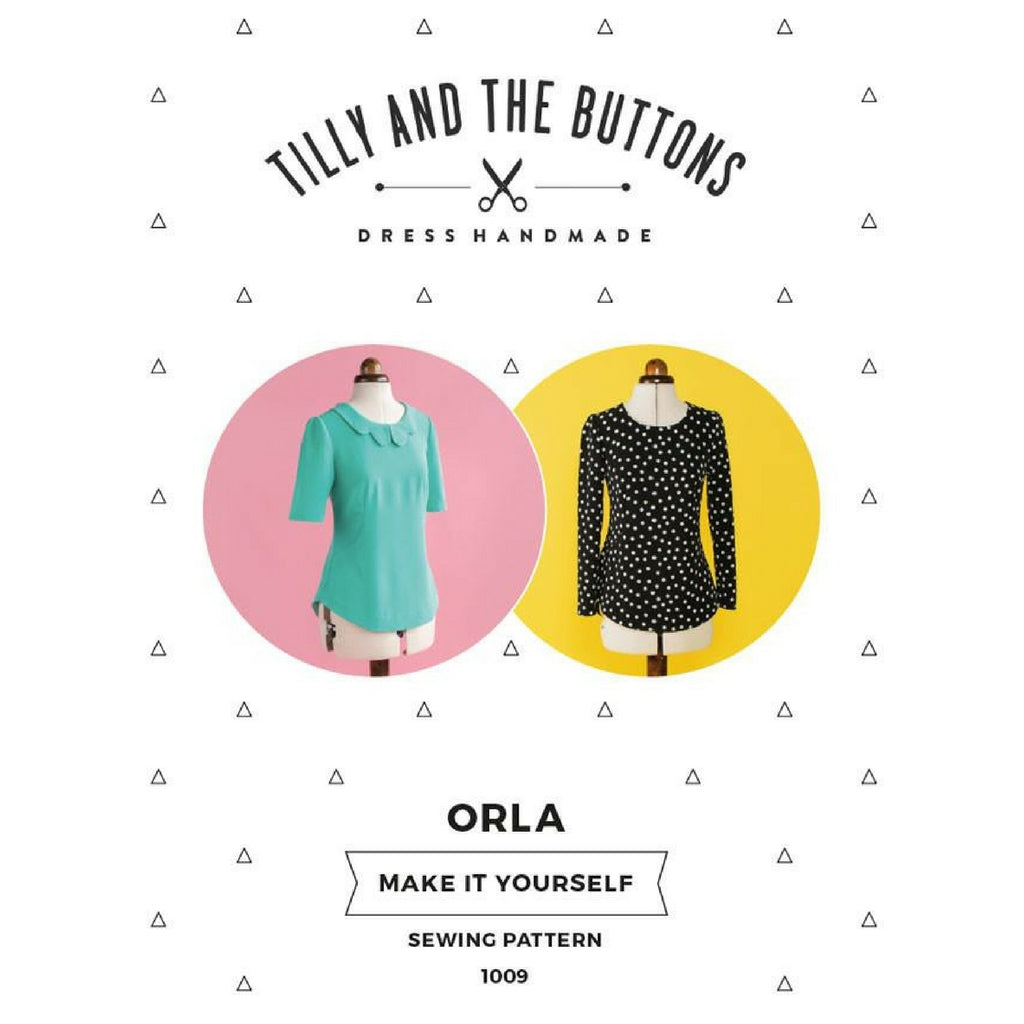Tilly and the Buttons Orla Shift Top - Sold Out - Style Maker Fabrics