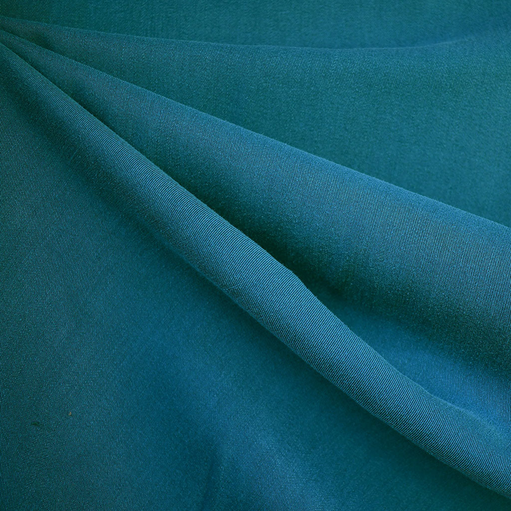 Soft Washed Tencel Twill Solid Jade - Fabric - Style Maker Fabrics