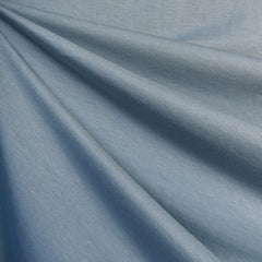 Cotton Modal Jersey Knit Solid Sky - Fabric - Style Maker Fabrics