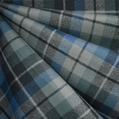 Mammoth Flannel Tonal Plaid Blue/Grey