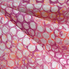 Warehouse District Layered Rings Linen Blend Petal - Fabric - Style Maker Fabrics