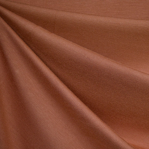 Bamboo Jersey Knit Solid Terracotta