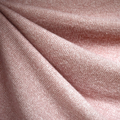 Dreamy Soft Brushed Sweater Knit Solid Blush—Preorder