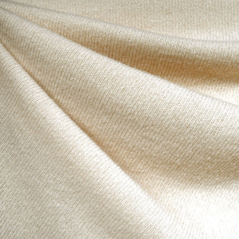 Dreamy Soft Brushed Sweater Knit Solid Cream—Preorder