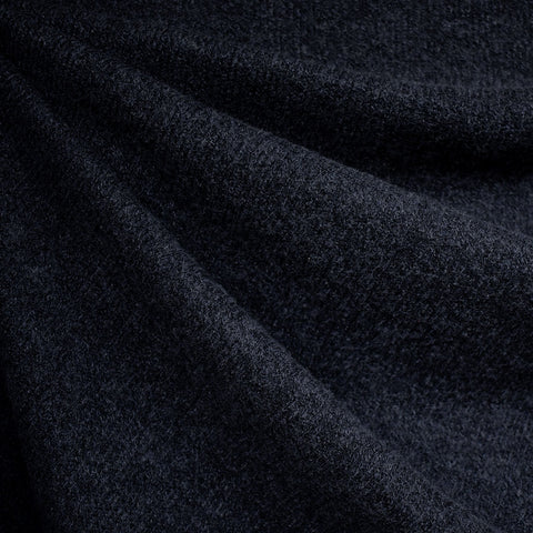 Dreamy Soft Brushed Sweater Knit Solid Navy—Preorder