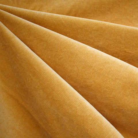 Stretch Pinwale Corduroy Solid Mustard