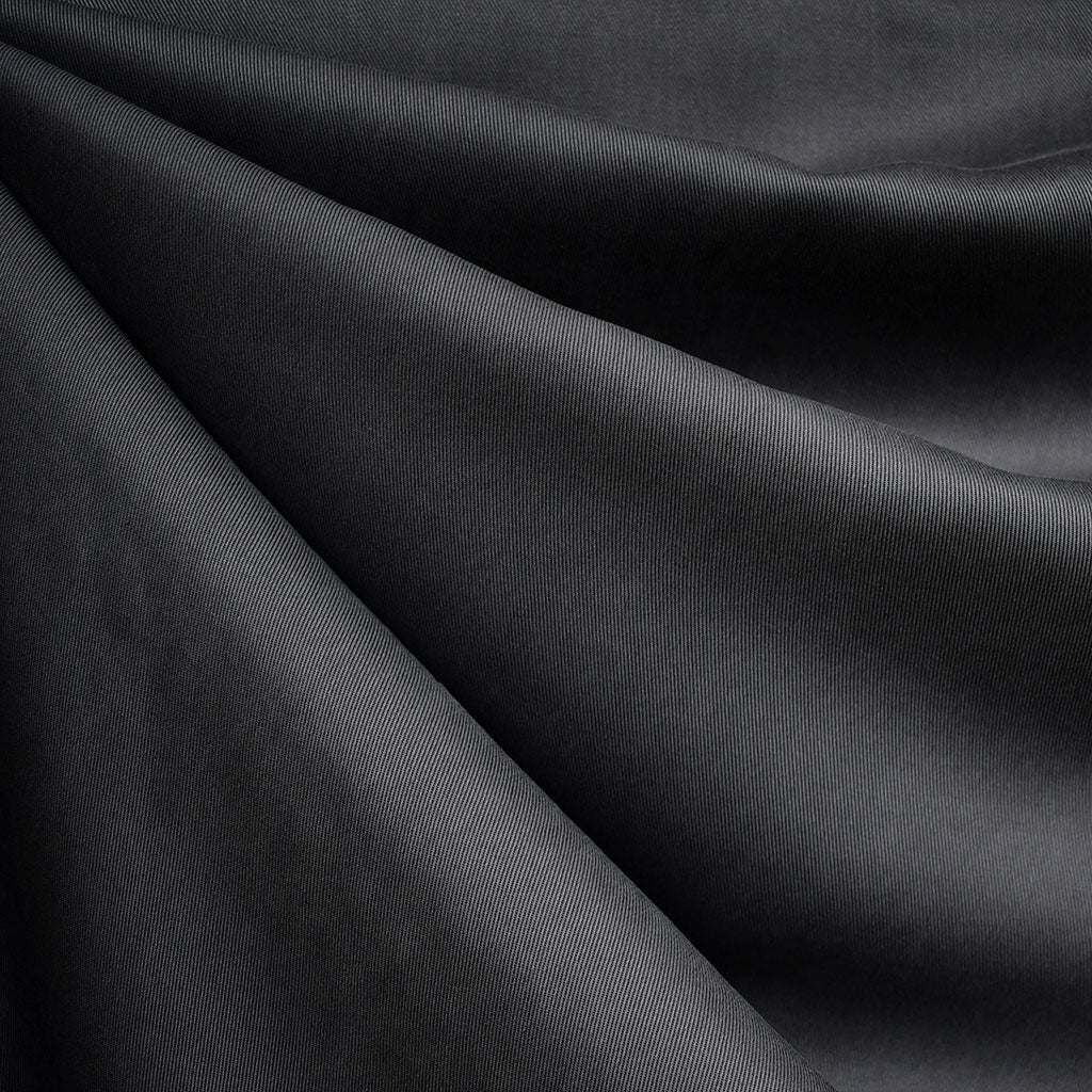 Tencel Twill Solid Bottom Weight Charcoal - Fabric - Style Maker Fabrics