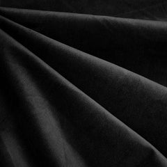 Soft Stretch Micro Wale Corduroy Solid Black - Fabric - Style Maker Fabrics