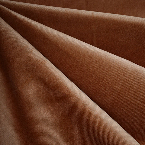 Soft Stretch Micro Wale Corduroy Solid Spice