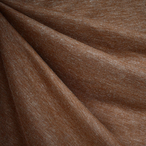 Cozy Plush Double Knit Heather Cinnamon
