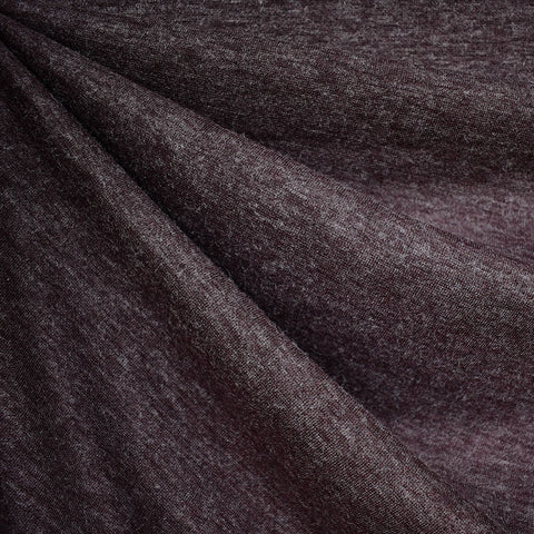 Cozy Plush Double Knit Heather Plum