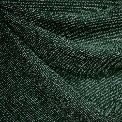 Tweed Texture Sweater Knit Emerald/Black