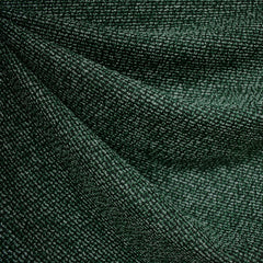 Tweed Texture Sweater Knit Emerald/Black - Fabric - Style Maker Fabrics