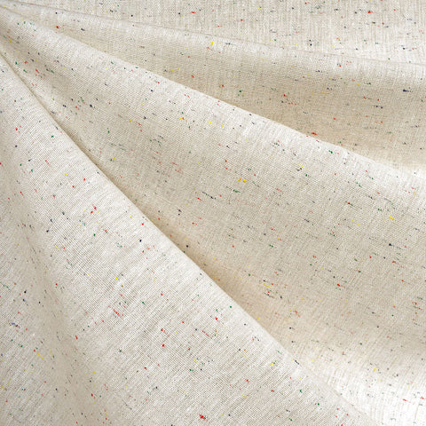 Speckle Essex Yarn Dyed Linen Blend Cream