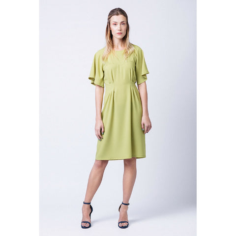 Named Ansa Butterfly Sleeve Dress and Top