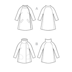 Closet Case Patterns Clare Coat - Patterns - Style Maker Fabrics