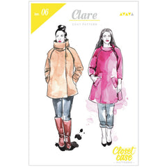 Closet Case Patterns Clare Coat - Sold Out - Style Maker Fabrics