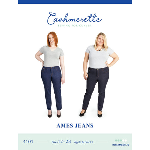 Cashmerette Sewing Patterns Ames Jeans