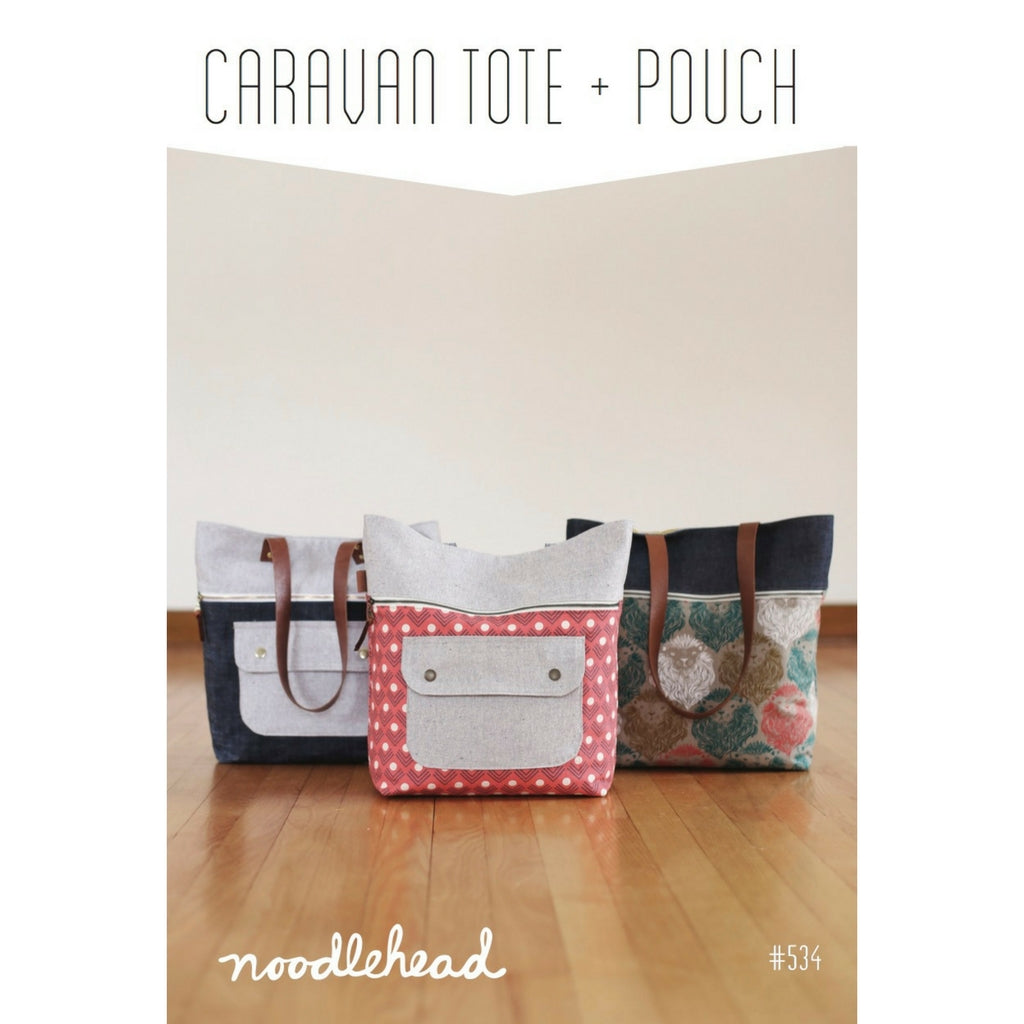 Noodlehead Caravan Tote & Pouch - Sold Out - Style Maker Fabrics