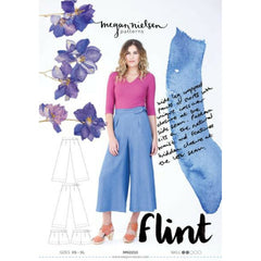 Megan Nielsen Patterns Flint Pants - Patterns - Style Maker Fabrics