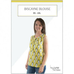 Hey June Patterns Biscayne Blouse - Patterns - Style Maker Fabrics