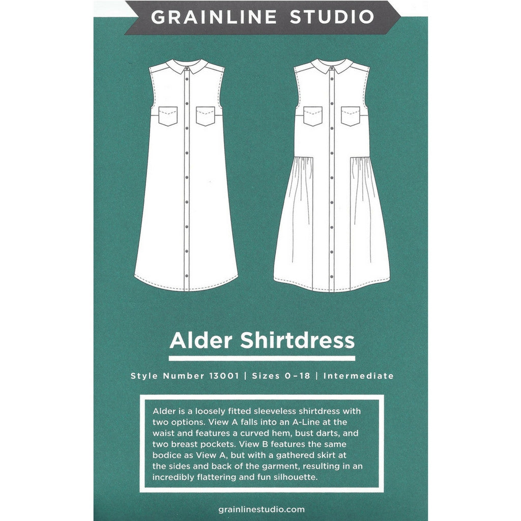 Grainline Studio Alder Shirtdress - Patterns - Style Maker Fabrics