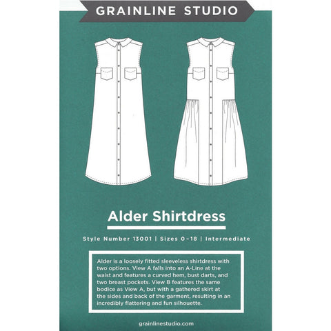 Grainline Studio Alder Shirtdress